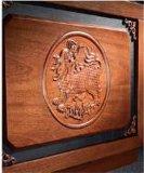лидирующий классицистический большой стол сочинительства с ящиком
