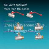 Preço da Válvula de Esfera de latão forjado 600 Wog Importador da Válvula de Esfera de latão em Délhi
