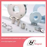 De super Sterke Aangepaste Magneet van het Neodymium NdFeB van de Ring van de Behoefte N52 N35 Permanente voor Motoren