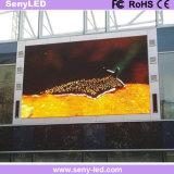 Mur de publicité visuel extérieur du panneau DEL d'écran