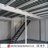 China Warehosue revestimento em pó de aço de armazenamento usado Mezzanine Prateleira de armazenamento