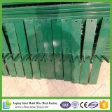 Загородка привлекательного зеленого порошка Coated временно
