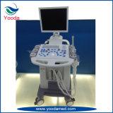 병원 장비 가득 차있는 디지털 트롤리 초음파 스캐너