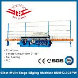 Vidrio multi etapa máquina de bordes 12 Motor 0-45 grados PLC de control (BDM12.325PW)