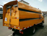 Caminhão automático da lavagem da vassoura de estrada da limpeza da rua das rodas de Foton 6