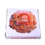 Блокировка коробки пиццы углы для стабильности и прочности (PIZZ-007)