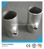 ANSI B16.9 acero inoxidable Reductor Tee