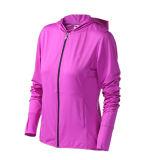 Alta Qualidade Final Mulheres Piscina o fecho completo jaqueta de poliéster