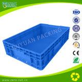 Contenitore di plastica di bassa potenza blu di giro d'affari per industria