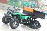 Granja automática de 4 tiempos con nieve ATV de neumáticos de caucho de gran capacidad de carga