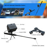 Poteau télescopique portable 5MP 1080P Full HD Uvis sous miroir d'inspection de véhicule avec deux caméras HD