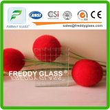 Clear Rhombus Nashiji Wired Glass / Clear Lozenge Nashiji Wired Patterned Glass / Rhomb Diamond Retardante de fogo Vidro / Retardante de fogo Vidro com vidro / chama resistente