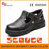 Chaussures en caoutchouc de santal de sûreté d'Outsole de couleur noire