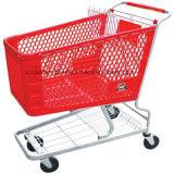 Trole do metal do supermercado/punho equipamento do carro livremente