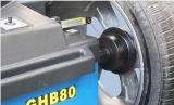 O GHB80 Full automatic de equilibragem de rodas com 3D