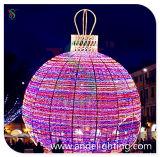 Van de Lichte LEIDENE van de vakantie Licht van de Decoratie van Kerstmis Bal van Kerstmis het Lichte Grote Openlucht