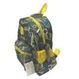 De nieuwe Rugzak van de Schooltas van het Patroon van de Kinderen van het Jonge geitje van de Aankomst Leuke
