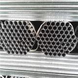 BS1387 Tuyau d'acier galvanisé standard fileté sur les deux extrémités