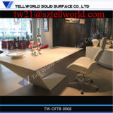 2016 Custom Made Modern Executive Design 1200 Photos de mesure standard Table de bureau moderne en surface solide