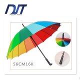 مظلة يعلن مظلة مستقيمة [بول] مظلة 16 عظم مظلة