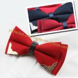 Новые моды мягкий свадебный подарок Bowtie жених металлические шпильки