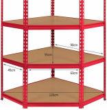Prateleiras de vidro do canto Multifunctional do armazenamento da garagem com prateleiras ajustáveis