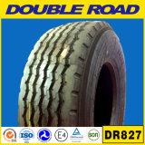 Fábrica superior al por mayor del neumático en neumáticos radiales dobles del carro del camino Dr816 de China 385/65r22.5-20ply-Brand