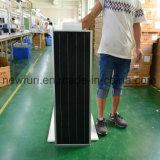 40W Luz solar calle económico con el Control inteligente de Mobile App.