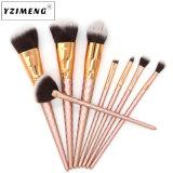 Traitement et de fabrication 8 morceaux de rose et le maquillage professionnel Make-up pinceau et de la brosse