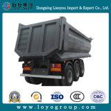 반 3개의 차축 팁 주는 사람 트럭 트레일러 판매를 위한 유압 쓰레기꾼 트레일러