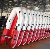 Liya 2m-6.5mのFoldableボートの柔らかく膨脹可能なボートの販売