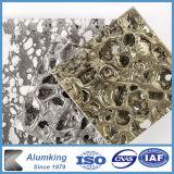 Parete di alluminio della gomma piuma della parete del metallo