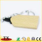 Cadeau promotionnel en bois de l'anneau de clé