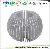 T-groef de Zonnebloem Heatsinks van het Aluminium van het Bouwmateriaal van Vormen
