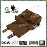 Portátil militar Vintage Unisex hombro bolsa bandolera de lona