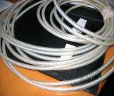 Corda de arame revestido de PVC transparente 1X7