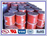 Cabo distribuidor de corrente de borracha resistente ao calor da soldadura