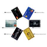 Der Kreditkarte USB-Blitz-Laufwerk Pendrive externe Platte-Feder-Laufwerk USB 2.0 des Speicher-Speicher-4GB 8GB 16GB U angepasst für Geschenk