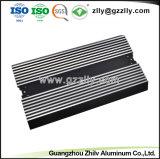 Extrusão de alumínio para amplificador para carro com dissipador de calor do Gabinete com anodização e Usinagem