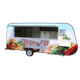 China Venta caliente los alimentos stand con equipamiento de cocina