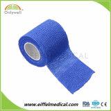 Fasciatura elastica coesiva a gettare di Vetwrap qualificata Ce/FDA/ISO