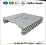 Aluminium extrudé pour dissipateur thermique de l'équipement audio de voiture du radiateur avec la norme ISO9001 certifié