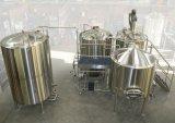 De volledige Machine van de Fabriek van het Bier van de Lopende band van het Bierbrouwen 30hl Mini