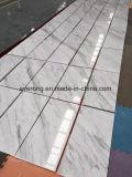 싱크대 석판 &Pillar 덮개 도와를 위한 Volakas 자연적인 백색 대리석 도와
