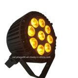 Piscina impermeável 9*10W RGBW 4 em 1 LED PAR Light