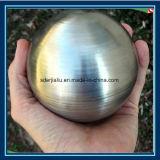 Aço inoxidável escovado olhar para o espelho da esfera esfera Jardim polido 400mm
