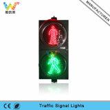 300mm rotes Verkehrszeichen-Fußgängerlicht des Grün-LED helles