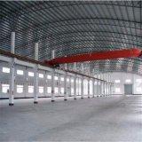 Estructura de acero ligera prefabricada de la casa/del taller de las mercancías del bajo costo