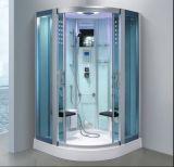 Sauna nova do vapor do setor do projeto 1200mm com chuveiro (AT-D0903-2)
