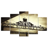 5 pinturas enmarcadas pared del arte de la lona de la impresión del estadio del panel HD Anfield para el cuadro Kn-38 de la pared de la sala de estar